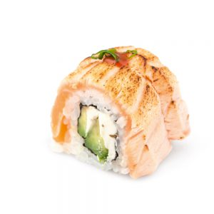 Flamed Philadelphia Roll