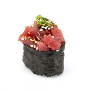 Hot Spicy Maguro Gunkan